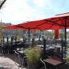 Maxi umbrella ADONE, Crema Outdoor