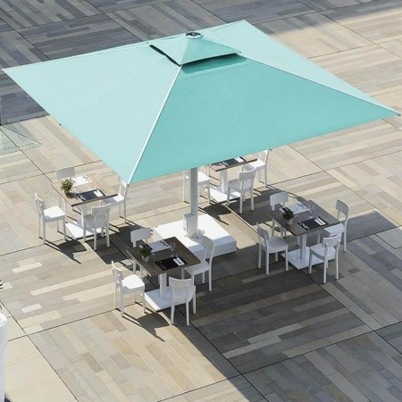 Maxi ombrellone automatico ADONE EVO, Crema Outdoor