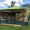 Maxi ombrellone EFESTO, Crema Outdoor