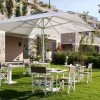 Maxi umbrella MINOSSE, Crema Outdoor