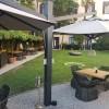 Maxi multiple umbrella Olimpo, Crema Outdoor