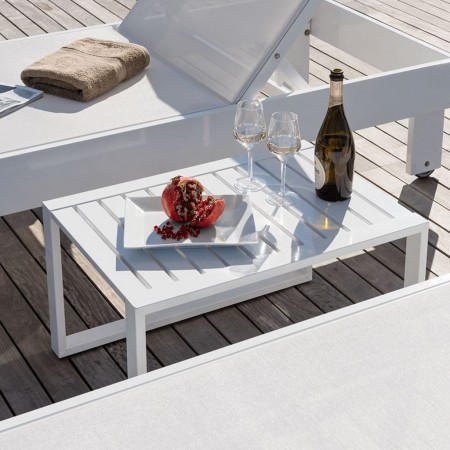 URANO COCKTAIL side table, Crema Outdoor
