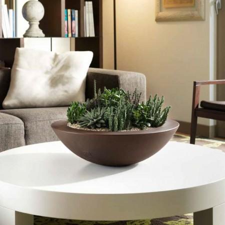 Genesis round flower-box, VECA