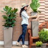 CLOU square cache-pot vase, VECA