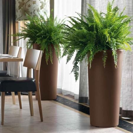 CLOU round cache-pot vase, VECA