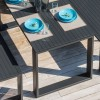 URANO DINNER table, Crema Outdoor