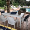 HOUSTON rectangular table, B:Rattan, BICA (full pallet)