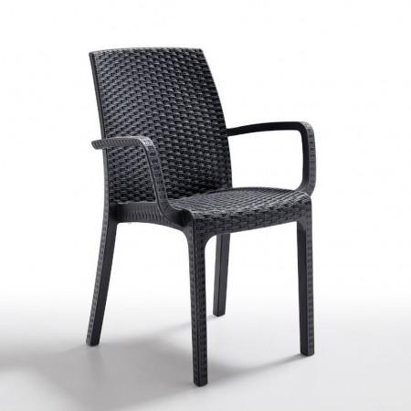 INDIANA chair, B:Rattan, BICA (full pallet)
