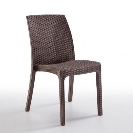 VIRGINIA chair, B:Rattan, BICA (full pallet)