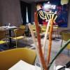 Basamento tavolo TIFFANY, base quadrata e colonna 50x50mm, Scab Design