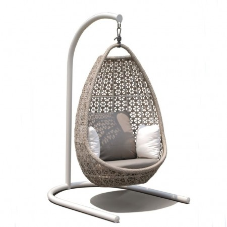 Journey collection hanging chair with pedestal, Skyline Design