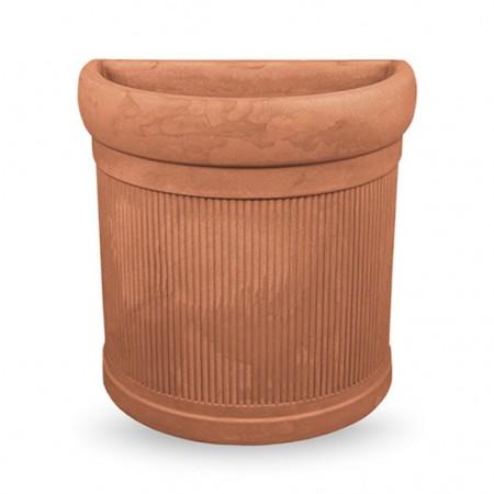 RIBBED wall vase, VECA