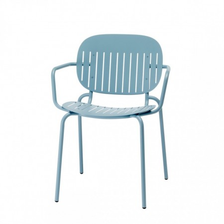 SI-SI Barcode chair with armrests, Scab Design