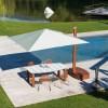 Maxi ombrellone PAN, Crema Outdoor