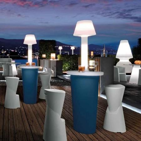 MAI TAI bar table with light, LYXO