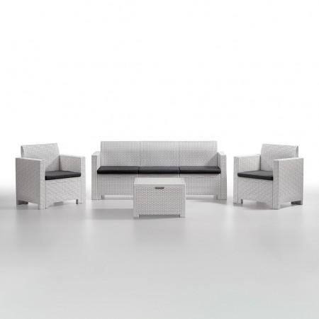 NEBRASKA 5-seater lounge set, B:Rattan, BICA (full pallet)