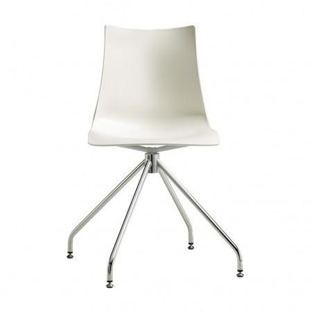 ZEBRA TECHNOPOLYMER trestle chair, Scab Design