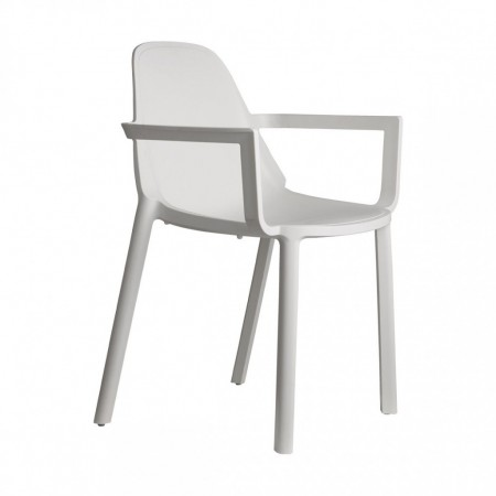 PIU' chair with armrests, Scab Design
